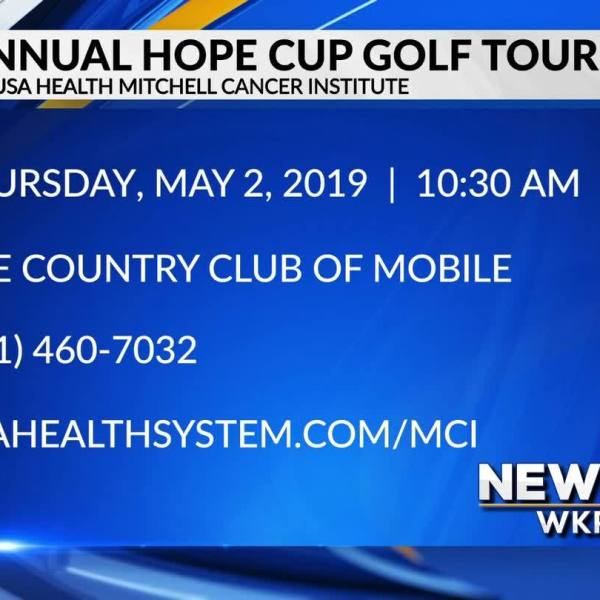 7th Annual Hope Cup Golf Tournament is May 2