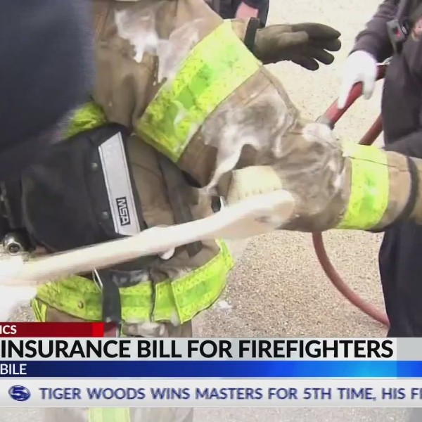 Bill in AL Legislature creates additional cancer insurance policy for firefighters