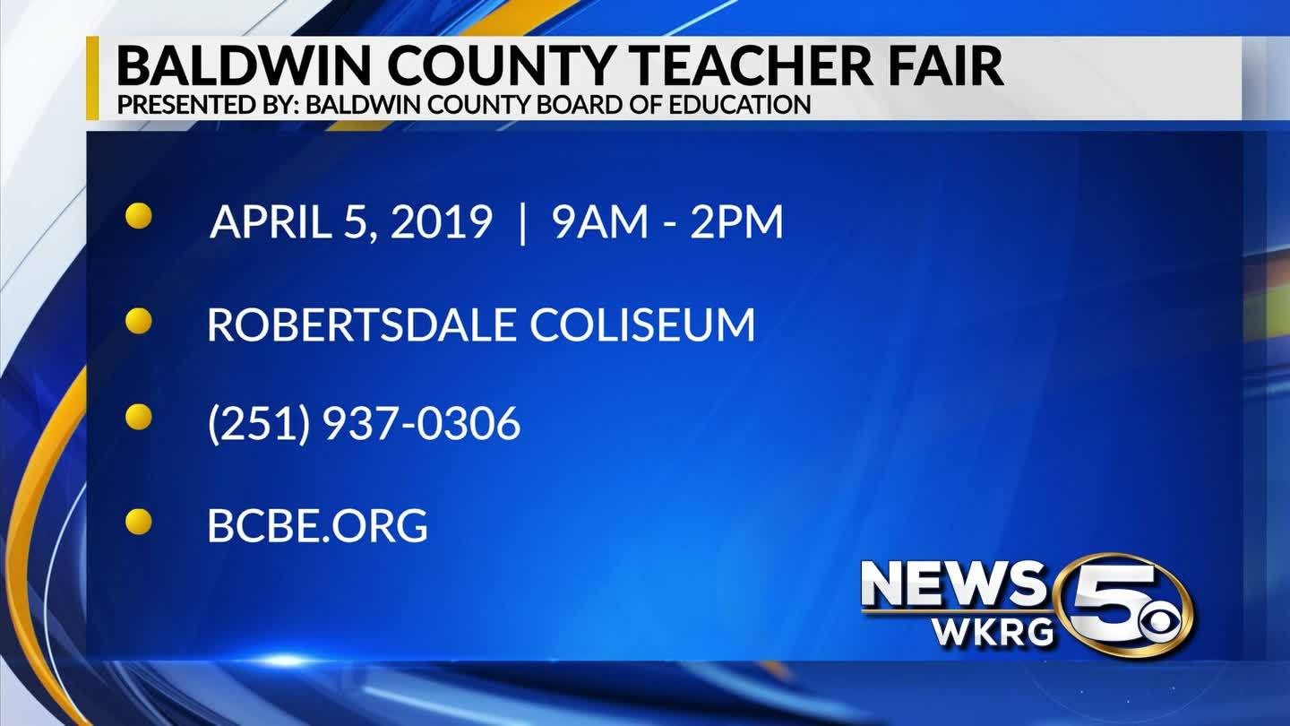 Calling all teachers to the Baldwin County Teacher Fair