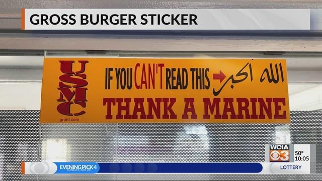 Controversy_over_sticker_in_restaurant_1_84990824_ver1.0_1280_720_1556539371461_84999583_ver1.0_640_360_1556551545704.jpg