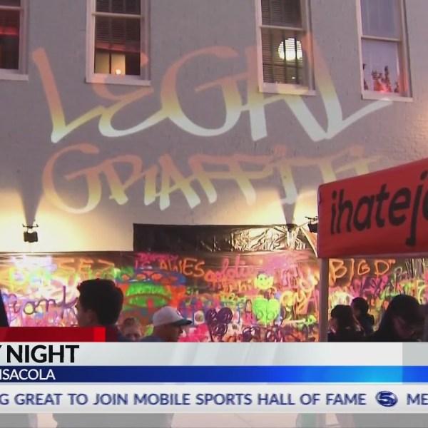 Drexel On The Road: Legal Graffiti