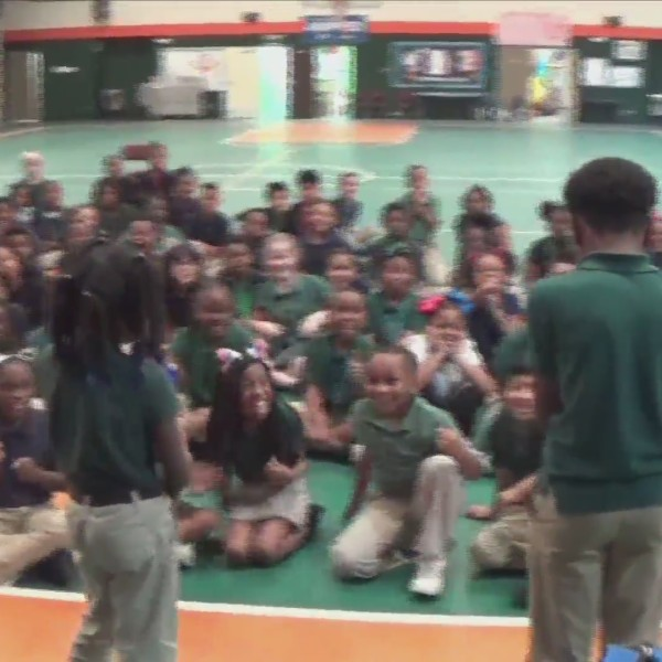 E.R. Dickson Elementary on Kidcam with Alan Sealls