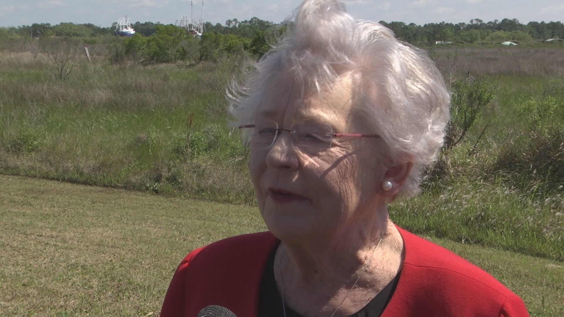 Kay Ivey talks about lotto progress in Alabama