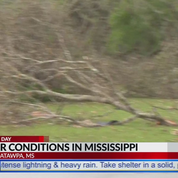 Storm debris could turn into missiles in Mississippi