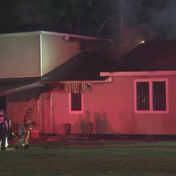 VIDEO: DIP house fire