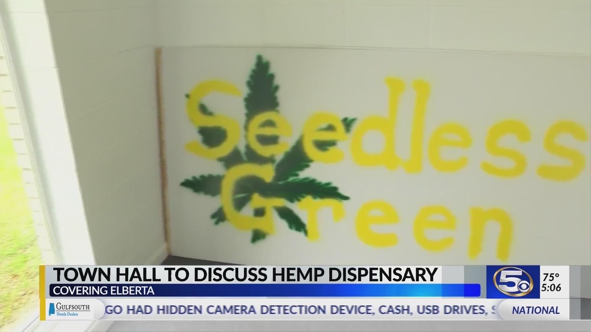 VIDEO: Elberta hemp meeting