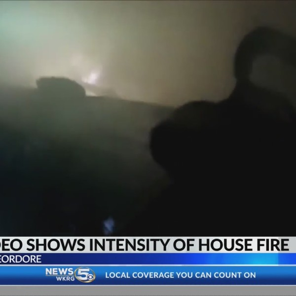 VIDEO: Firefighter bodycam footage shows crews battling blaze that burned child