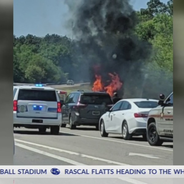 VIDEO: Four dead in fiery crash on I-10 following police chase