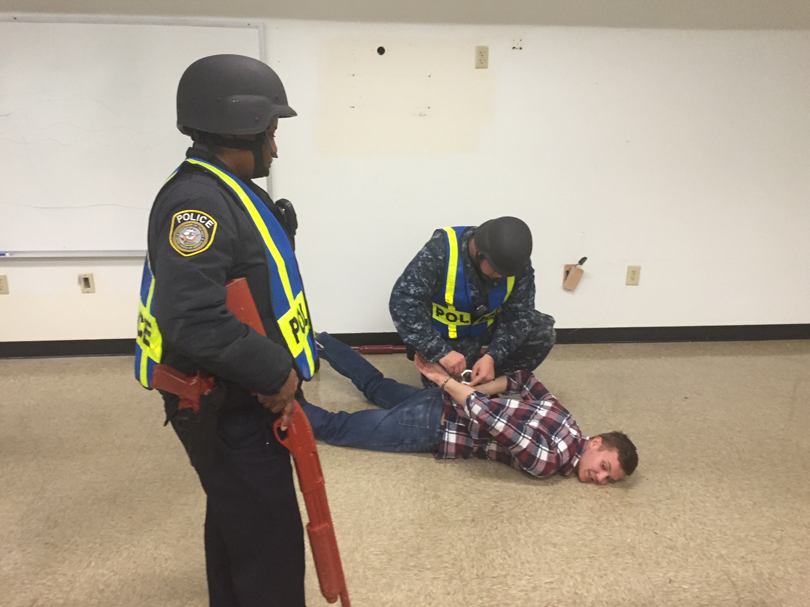 Active Shooter Drill Ends_150603