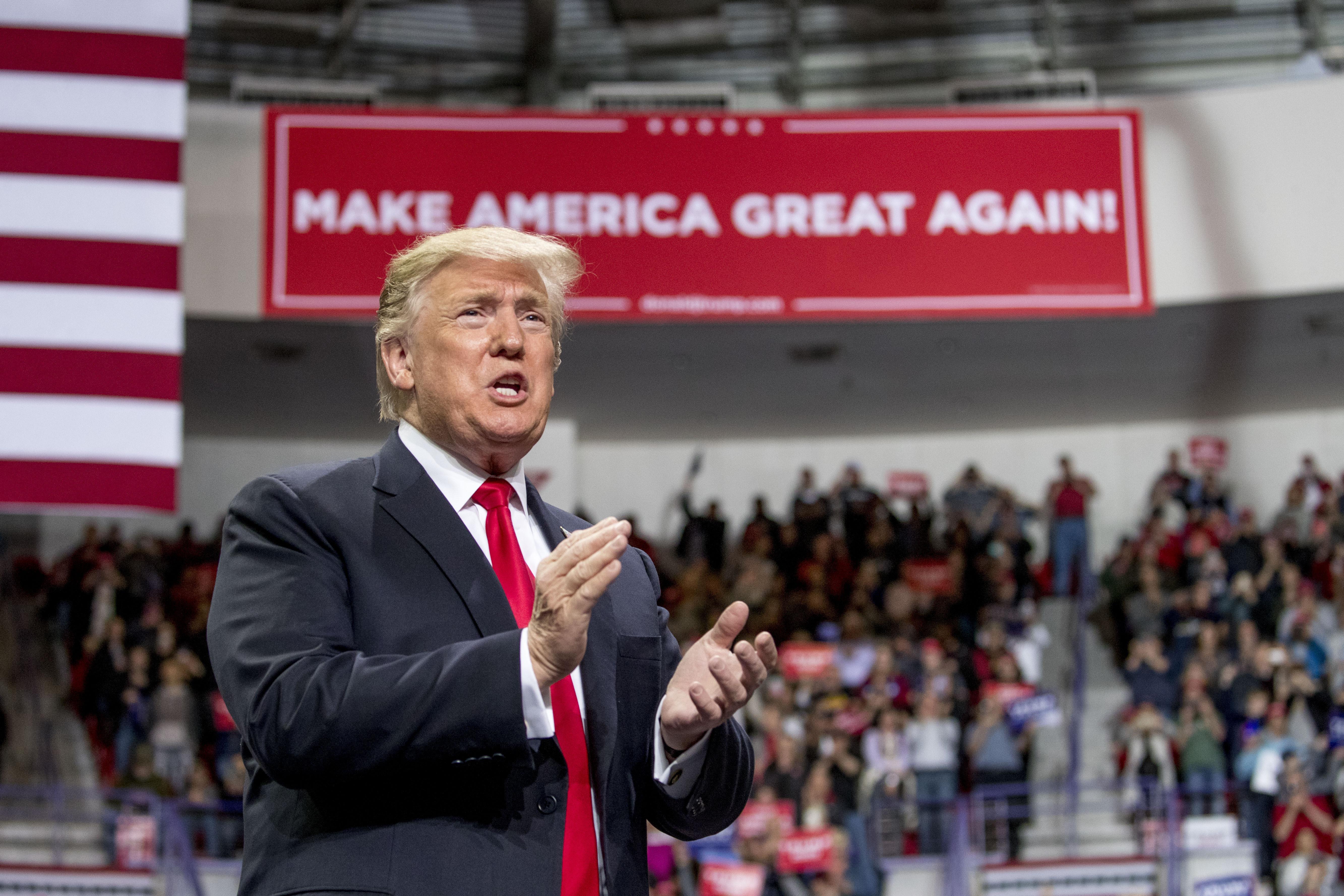 President Donald Trump Visits Panama City