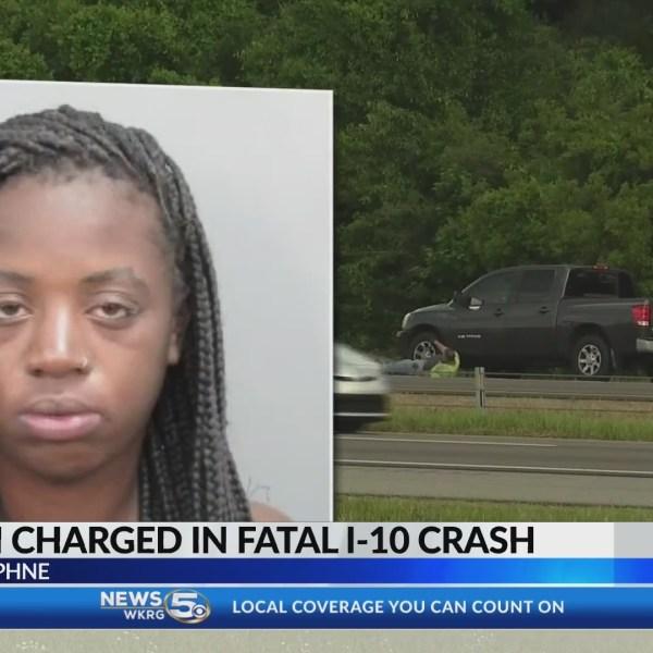Arrest in Baldwin I-10 motorcycle crash, victim identified