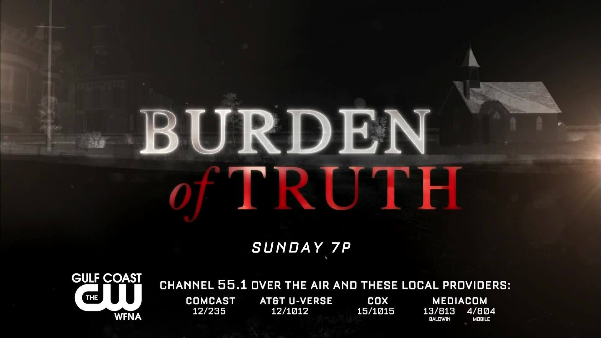 Burden of Truth returns for season two this Sunday, June 2!