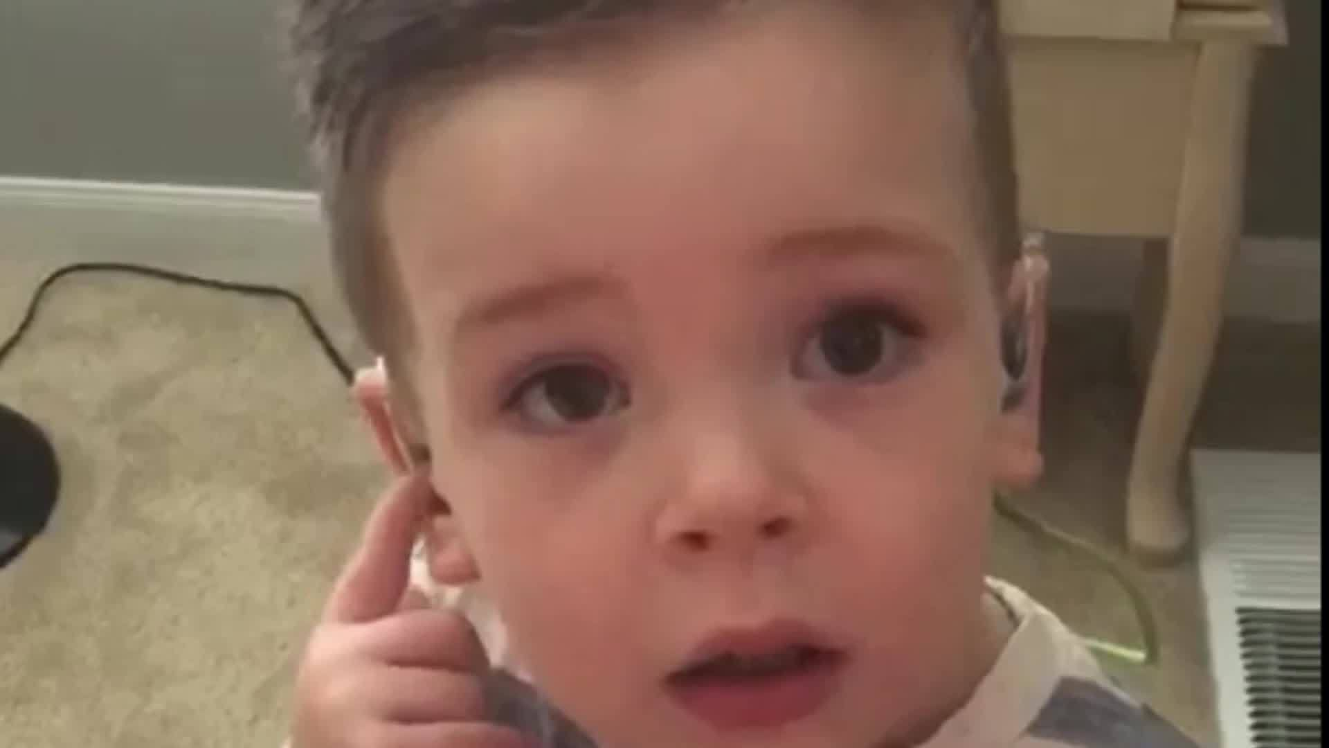 Cochlear implants 2 year old