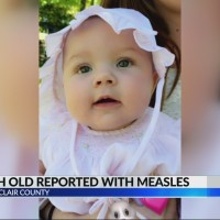 Community reacts to 5 month old reported with measles in St Clair County