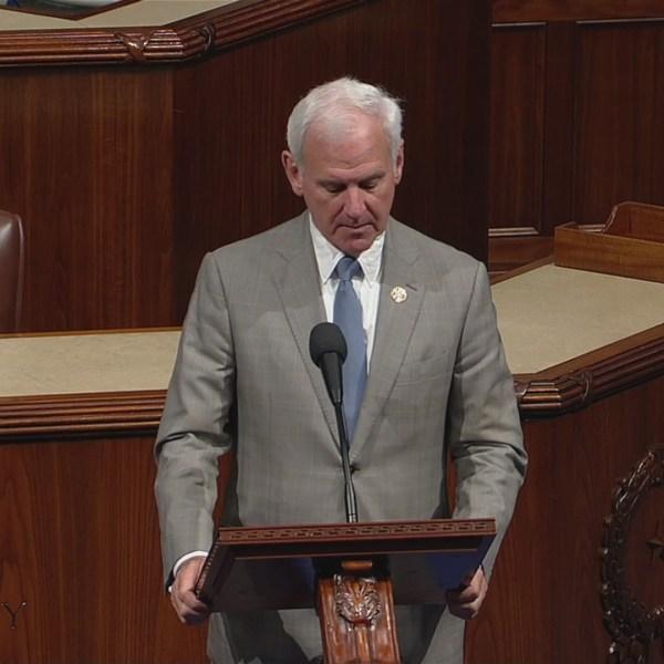 Congressman Bradley Byrne honors WKRG's Mel Showers in House speech