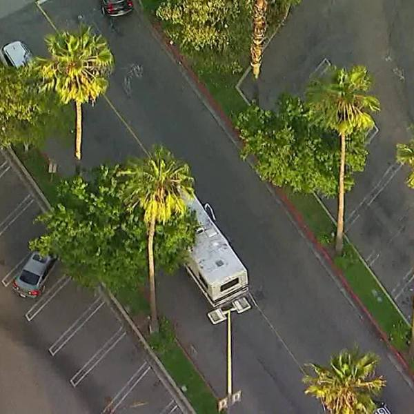 DUI Suspect in RV Caught on Camera