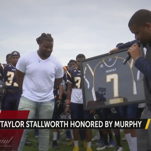 Taylor Stallworth Honored