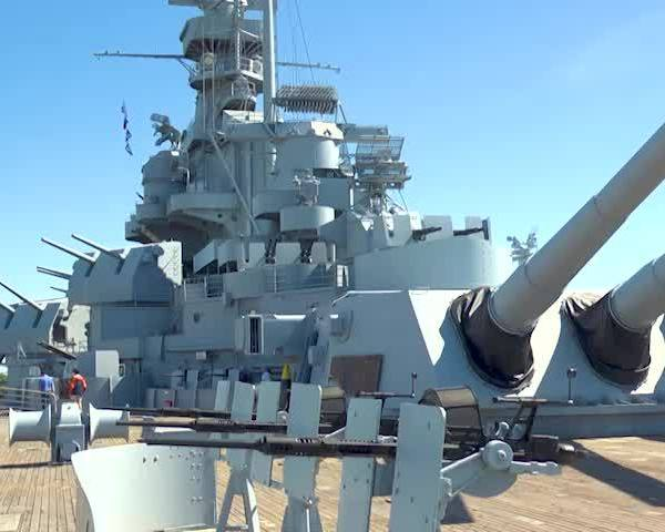 Tori B. Visits USS ALABAMA | Living Local with Pepsi