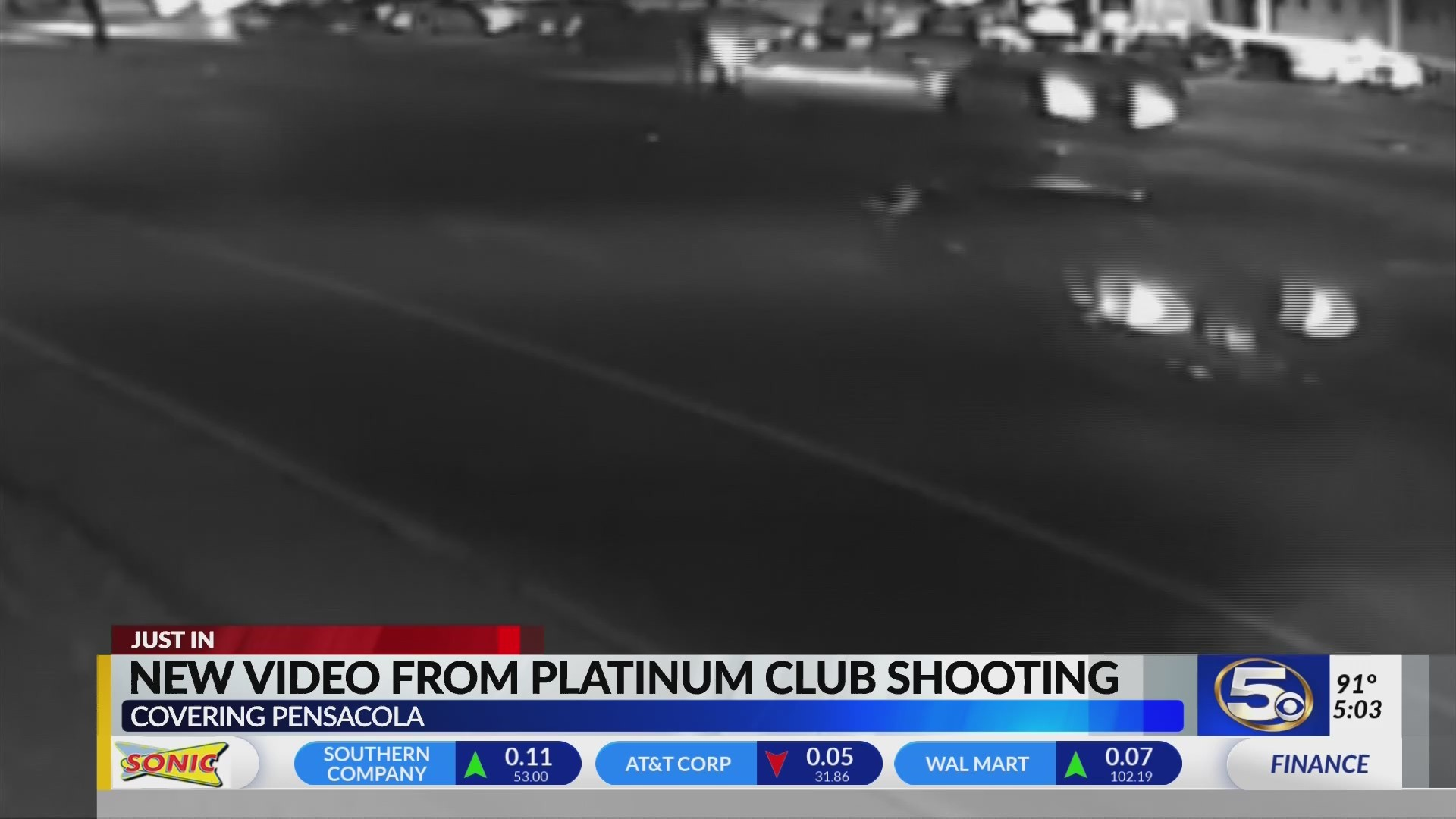 VIDEO: New video from deadly Platinum Club shooting in Pensacola