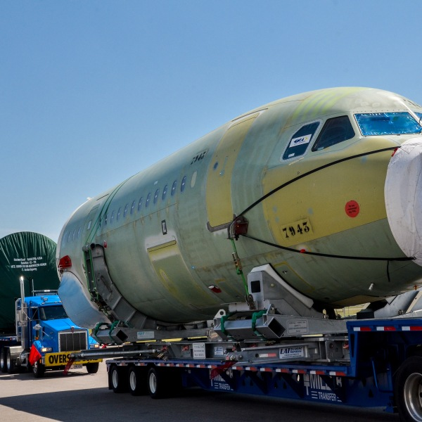 Airbus 50th MCA Arrival at Mobile Alabama FAL_411603