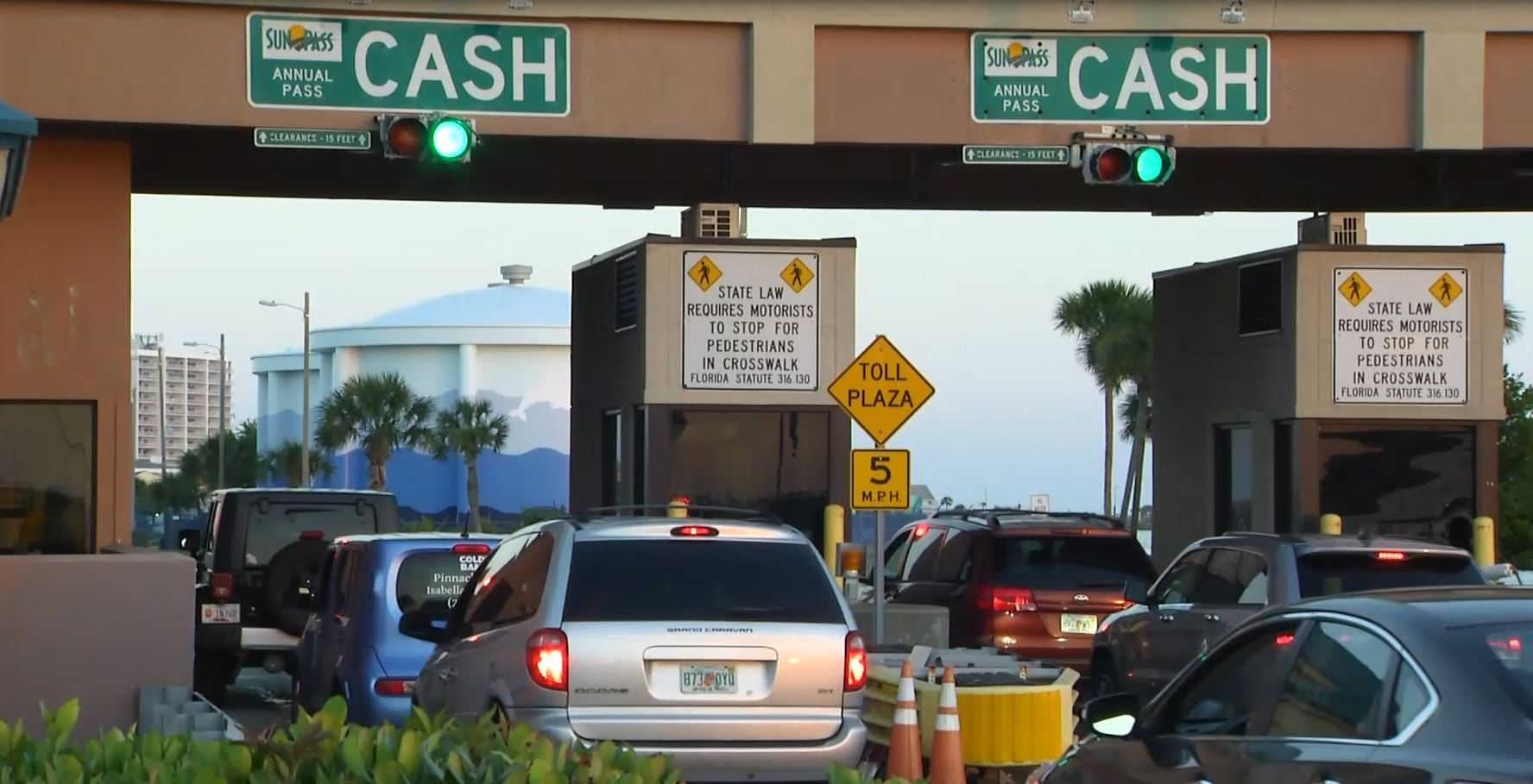 Changes made to Pensacola Beach toll booth ahead of holiday weekend