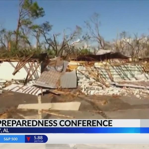 Alabama EMA officials meet to discuss storm preparedness
