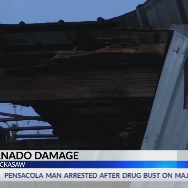 Confirmed Chickasaw tornado knocks roof off Ransom Ministries