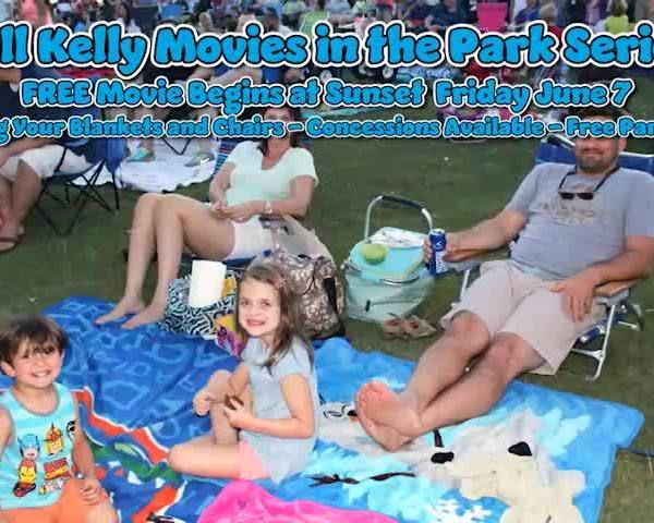 Hill-Kelly Movies In The Park Series This Friday In Pensacola