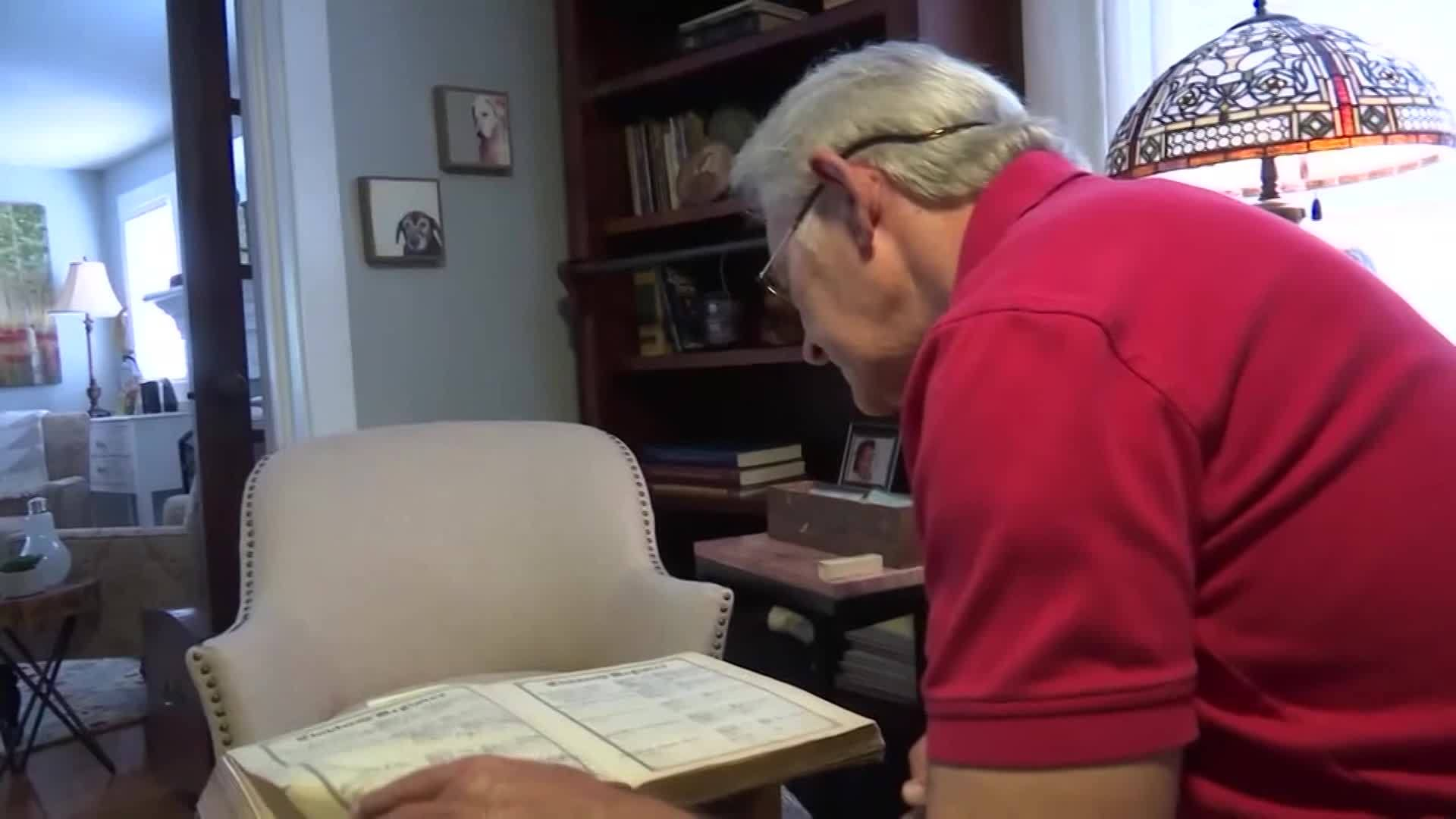 Man on a mission to return family Bible