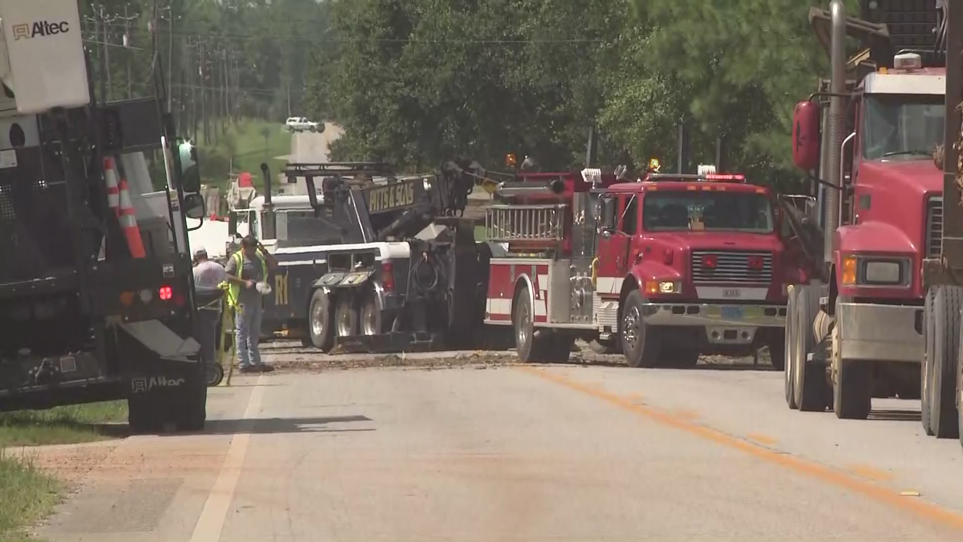 Fatal crash shuts down Highway 45 in Citronelle – WKRG News 5