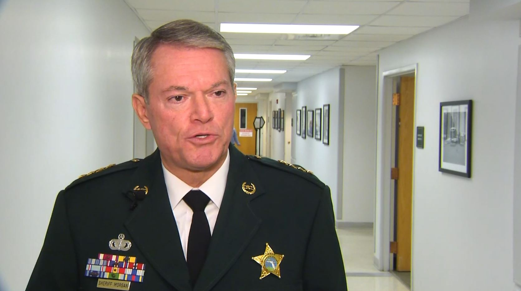 Escambia County Sheriff David Morgan denies involvement in alleged