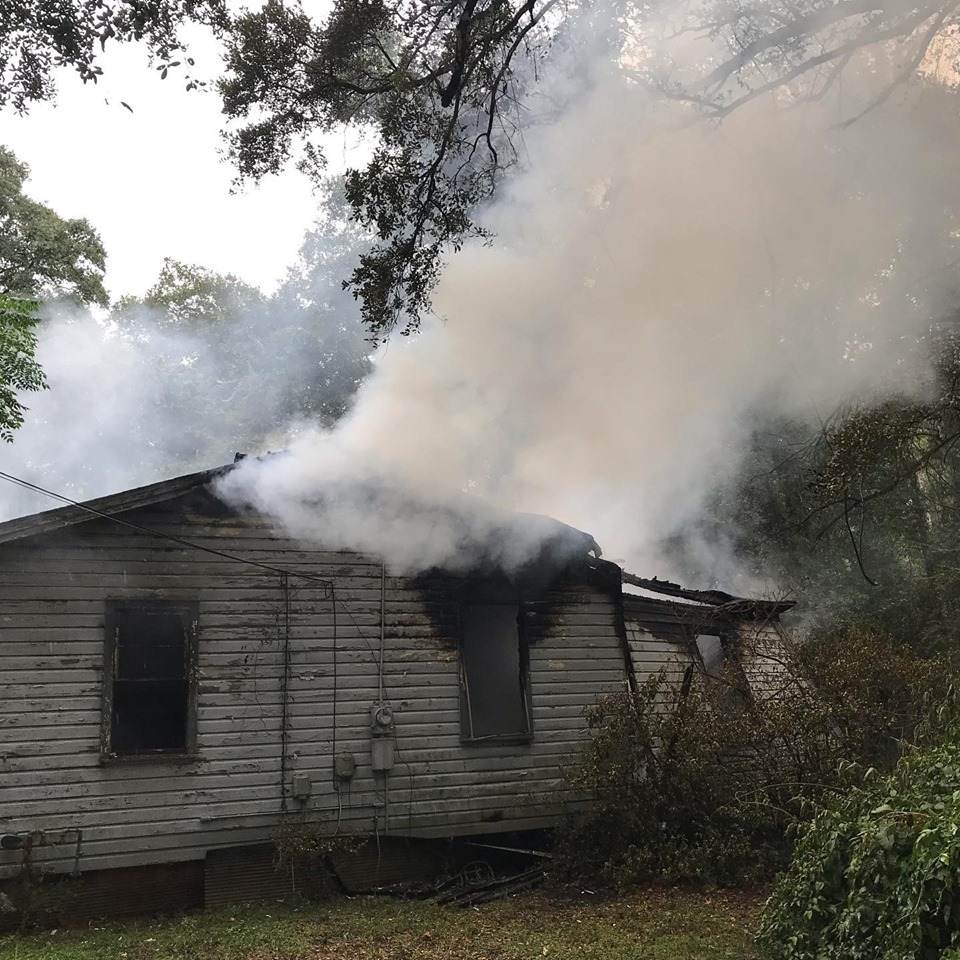 House fire on Demetropolis Road