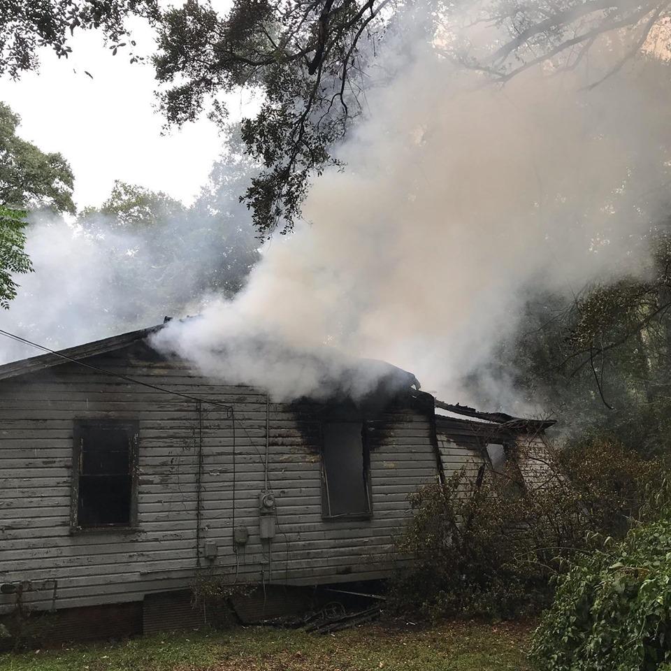 House fire on Demetropolis Road