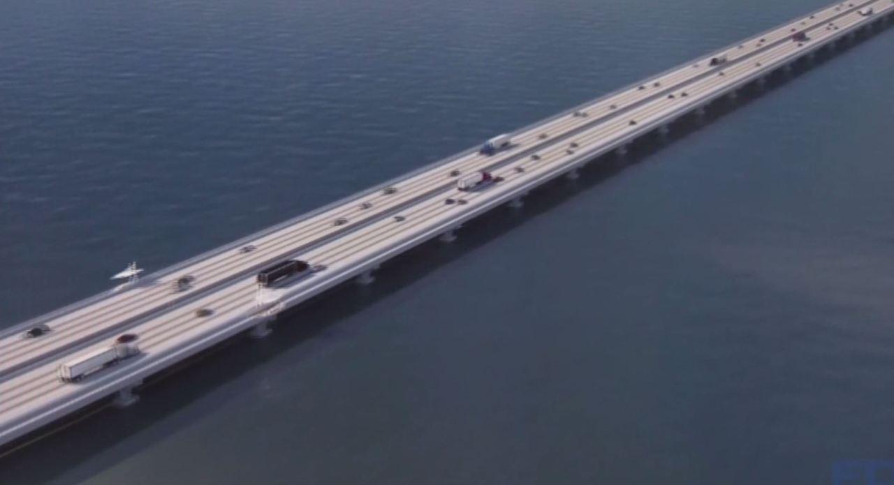 Wkrg I 10 Escambia Bay Bridge Reopened