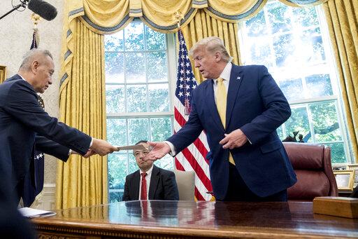 Donald Trump, Liu He