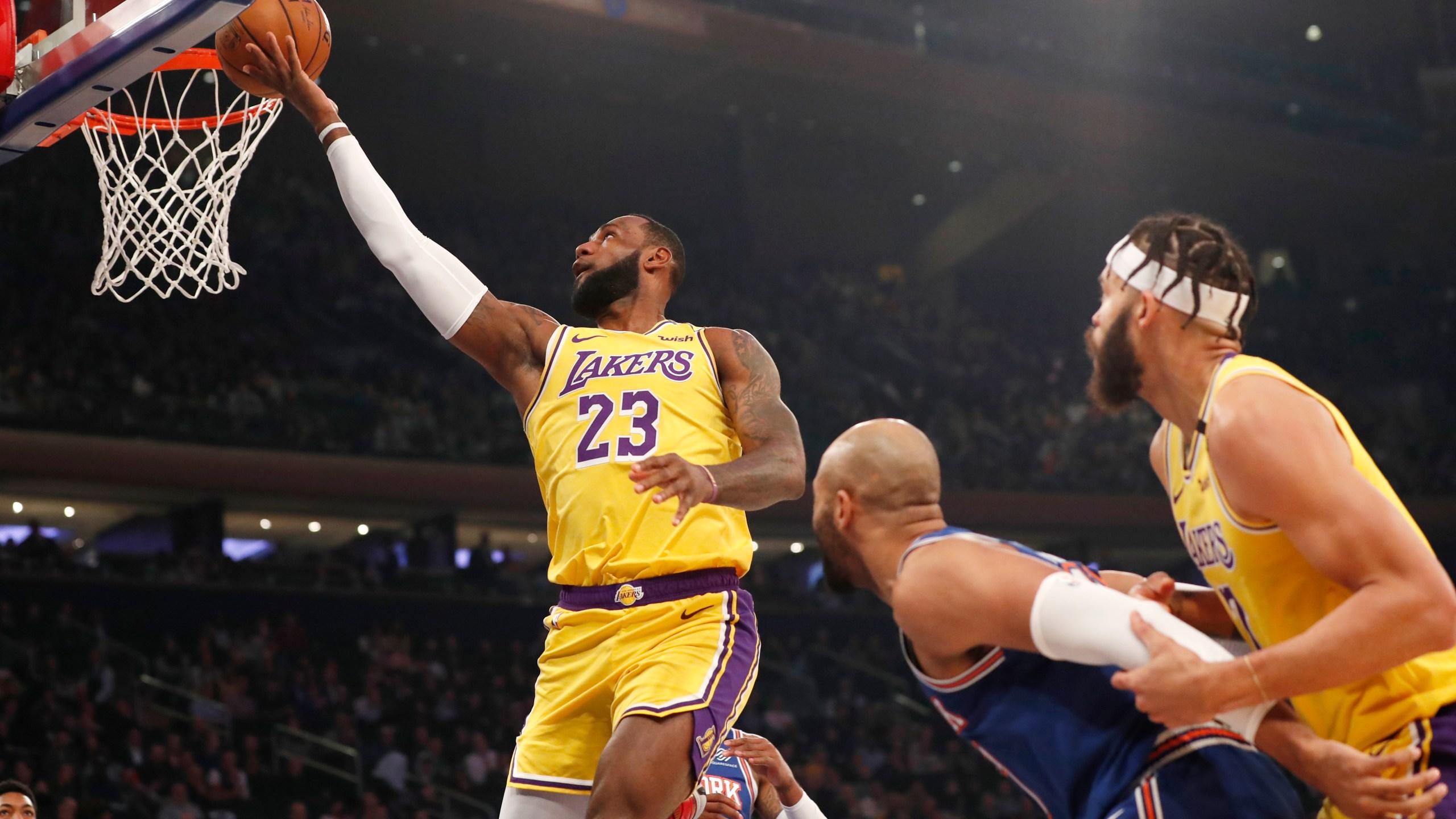 LeBron James, Taj Gibson