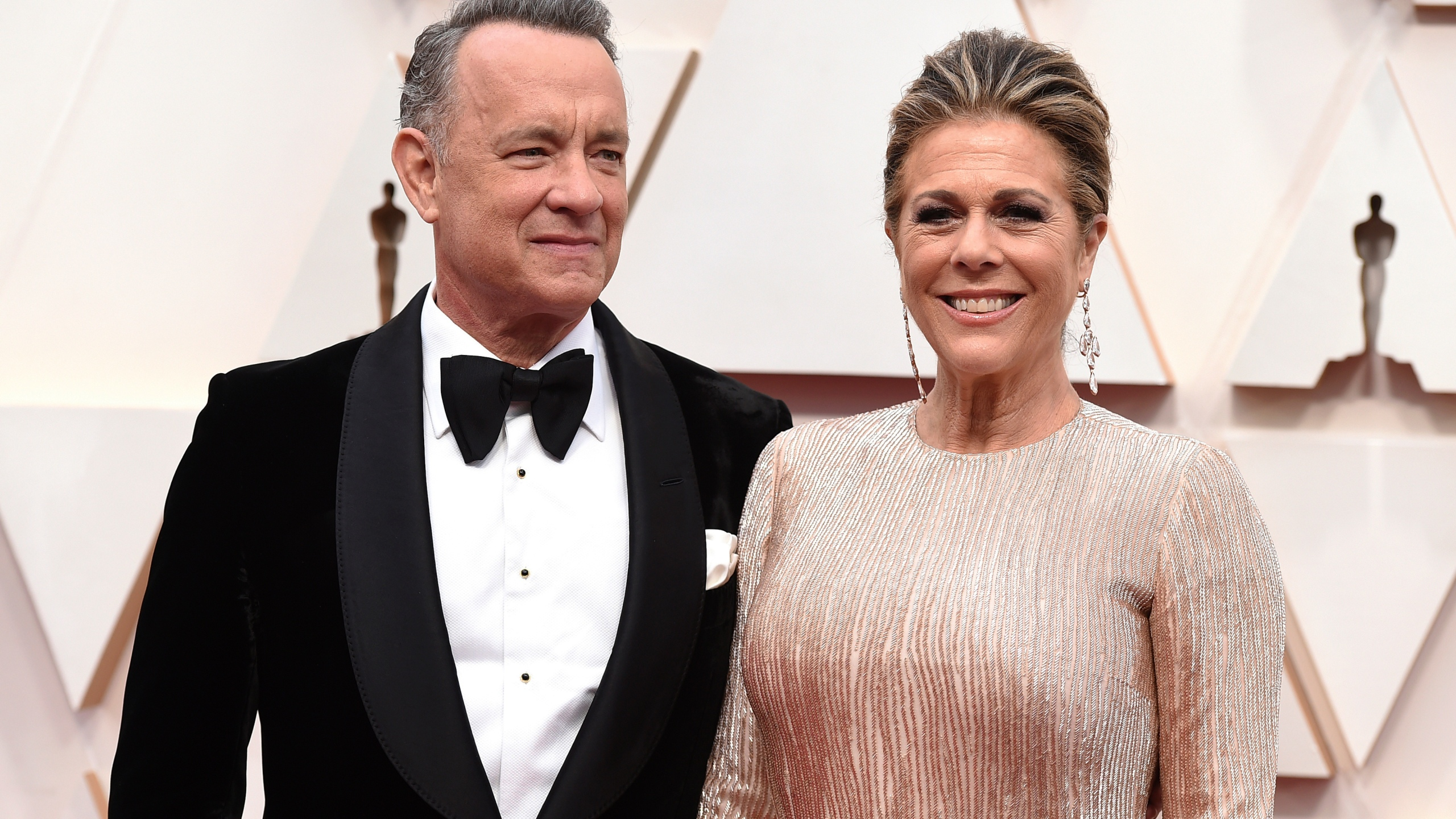 Tom Hanks, Rita Wilson