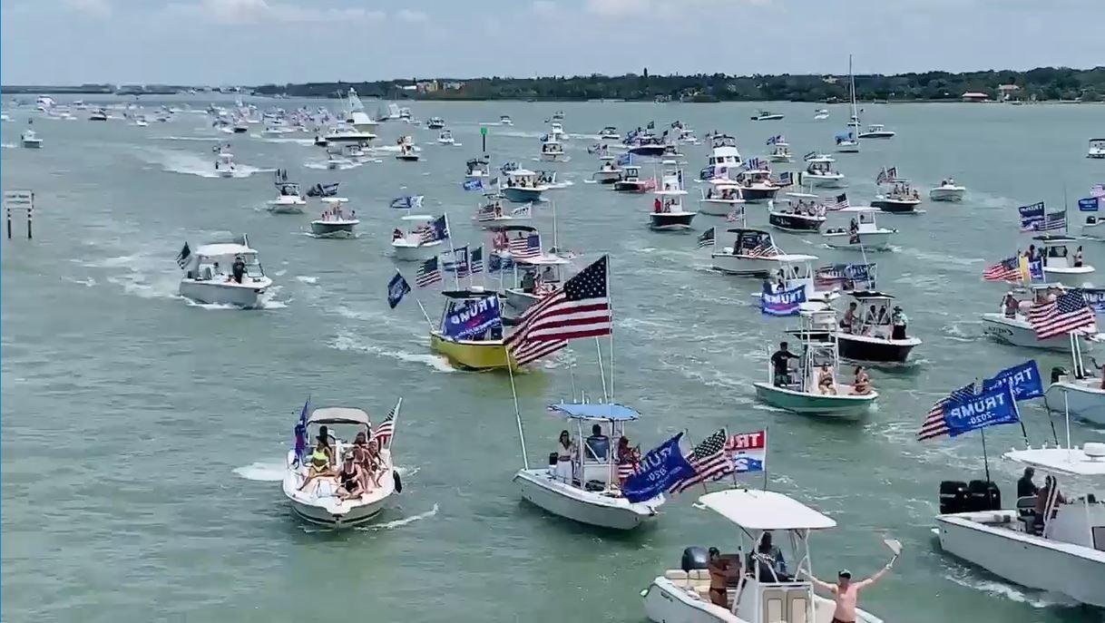 Lake Baldwin Christmas Parades 2020 Trump supporters plan another boat parade Saturday – WKRG News 5