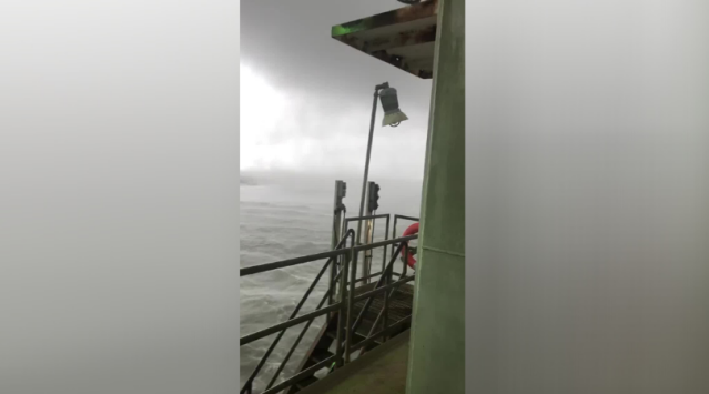 Wkrg Watch Best Video From Tropical Storm Cristobal