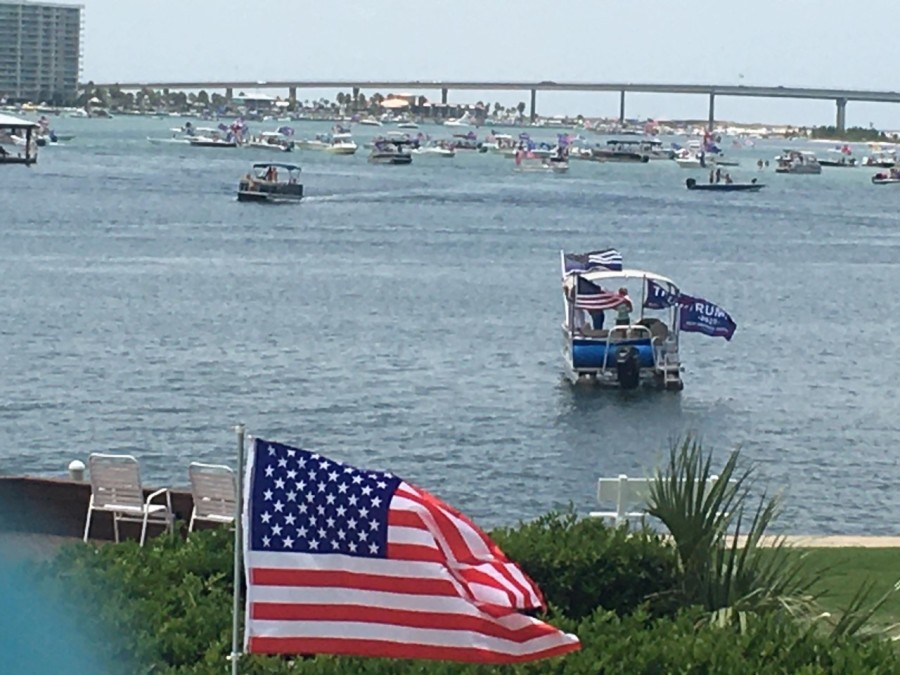 Wkrg Trump Boat Parade Held In Orange Beach
