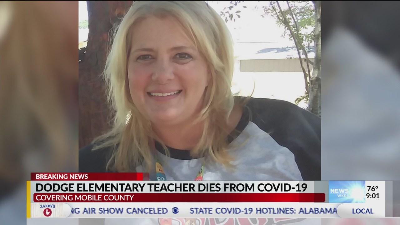dodge elementary teacher dies of covid WKRG  Dodge Elementary teacher dies from COVID-2