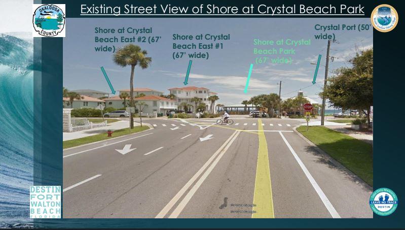 Destin to create more public beach access at Crystal Beach