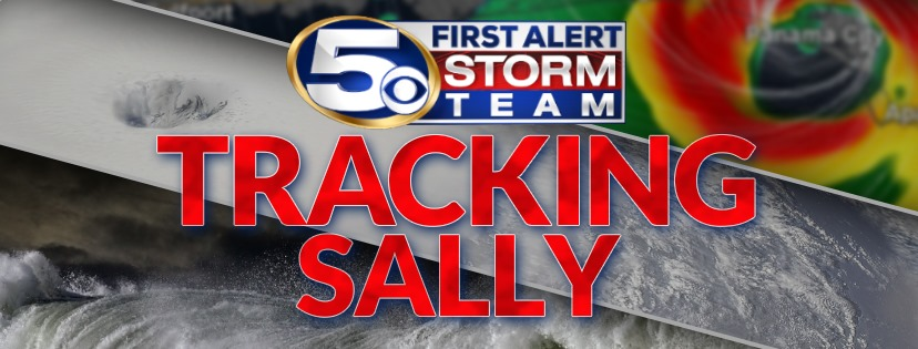TRACKING SALLY: Live Weather Updates