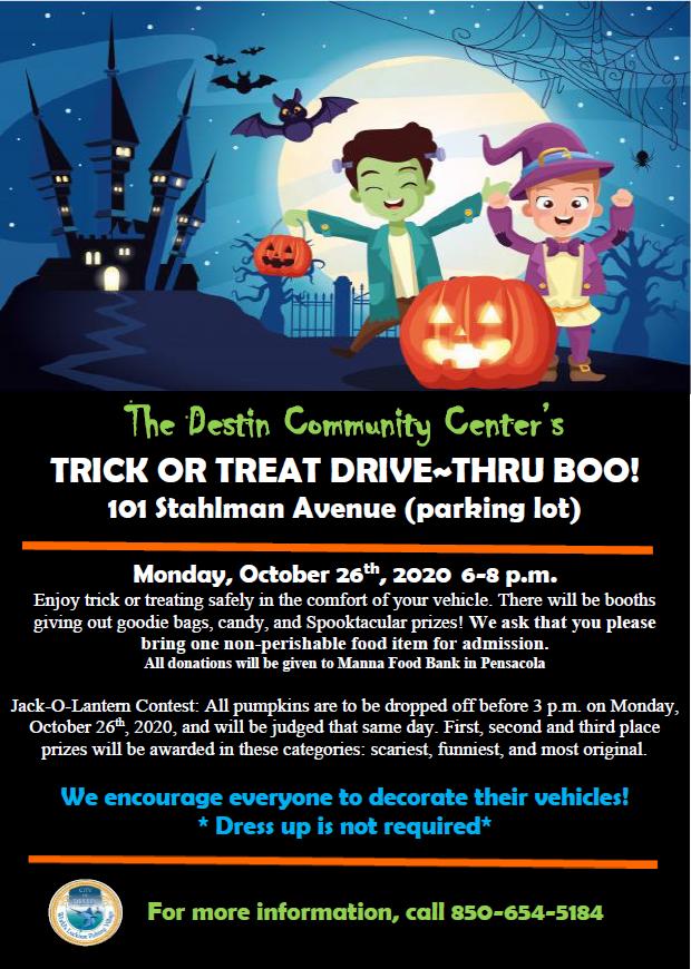 Halloween Pensacola 2020 WKRG | Halloween activities in the city of Destin