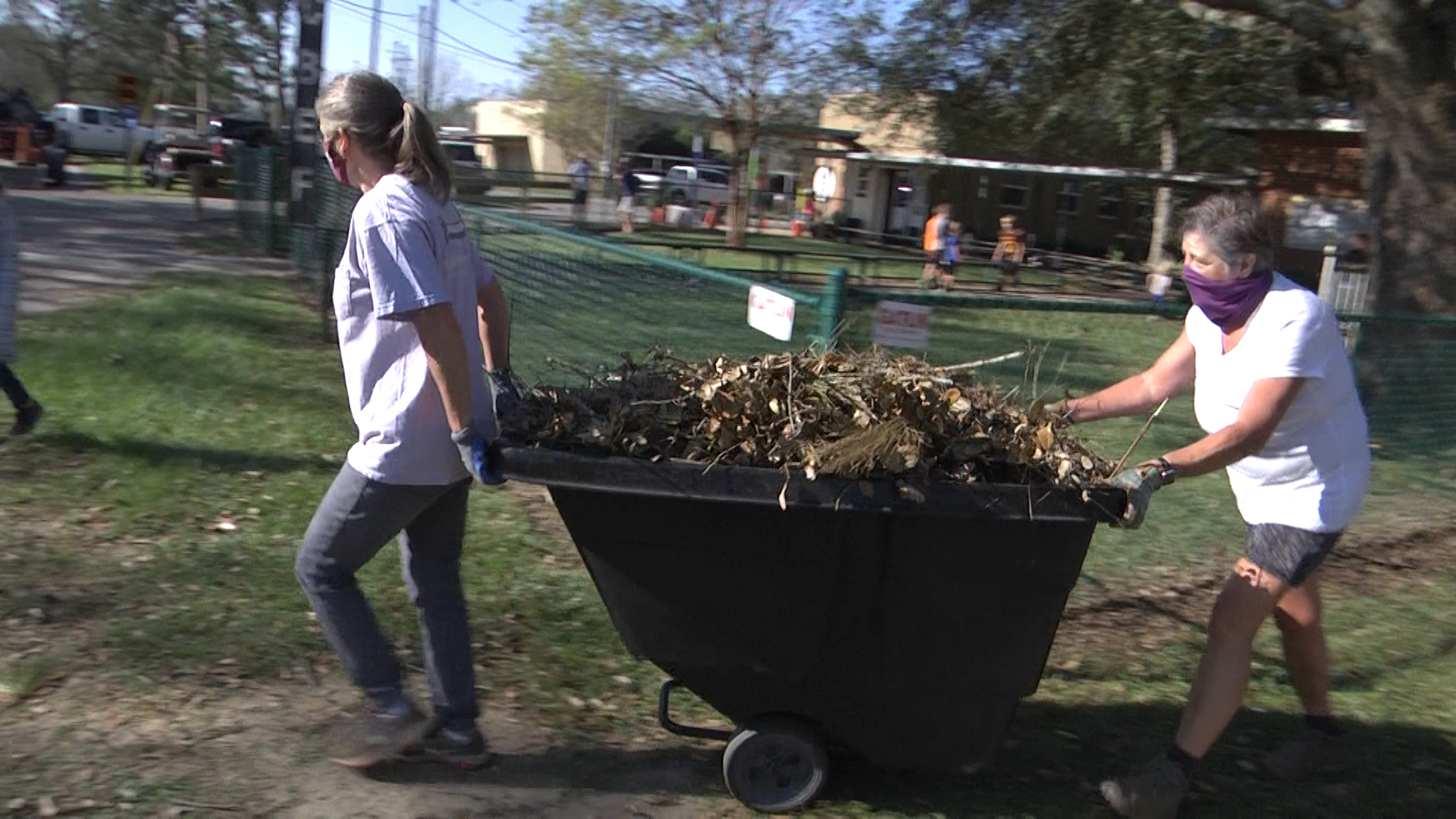 WKRG | Post Sally cleanup event at Silverhill Elementary