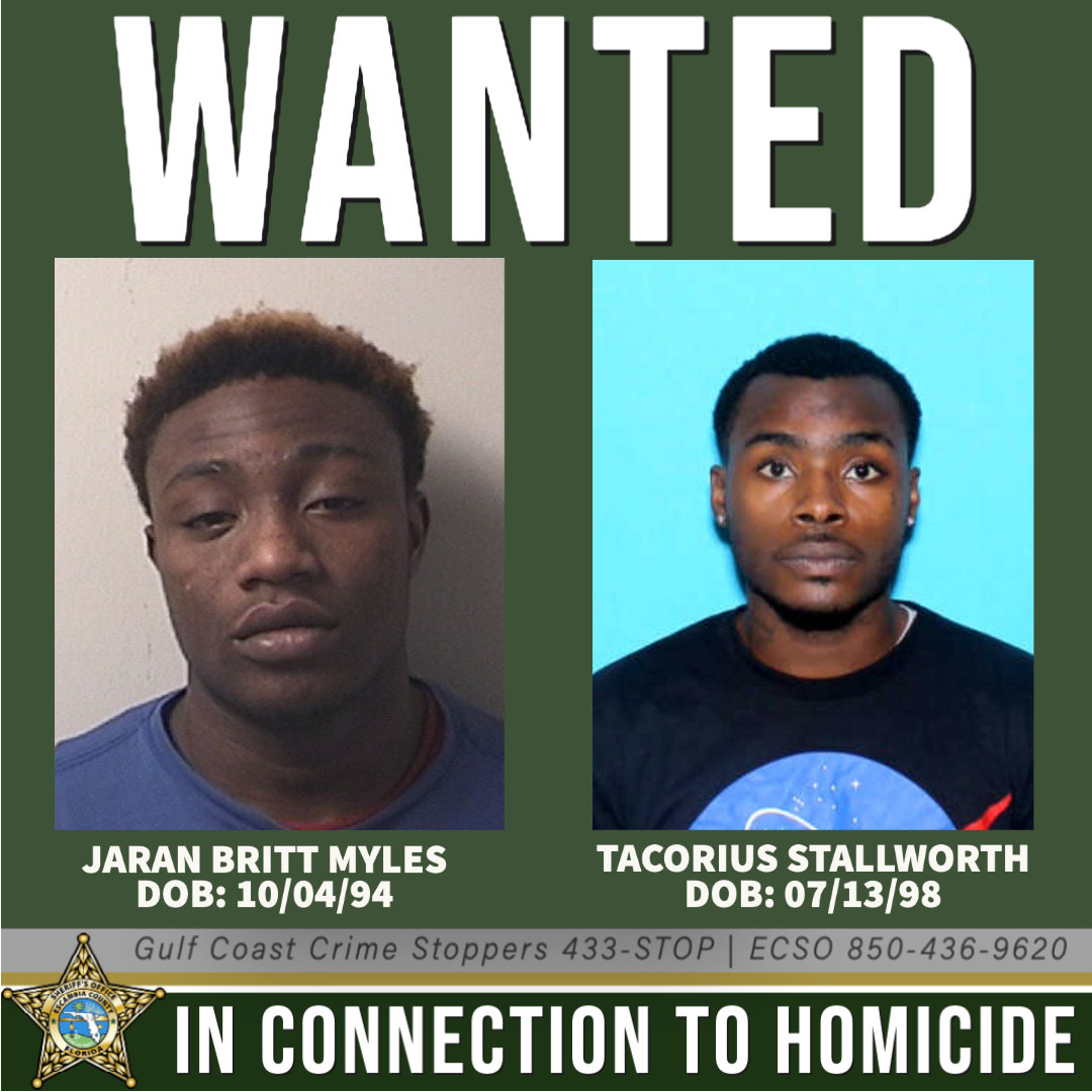 UPDATE: ECSO searching for two men connected to Century shooting that left 1 dead, 2 injured