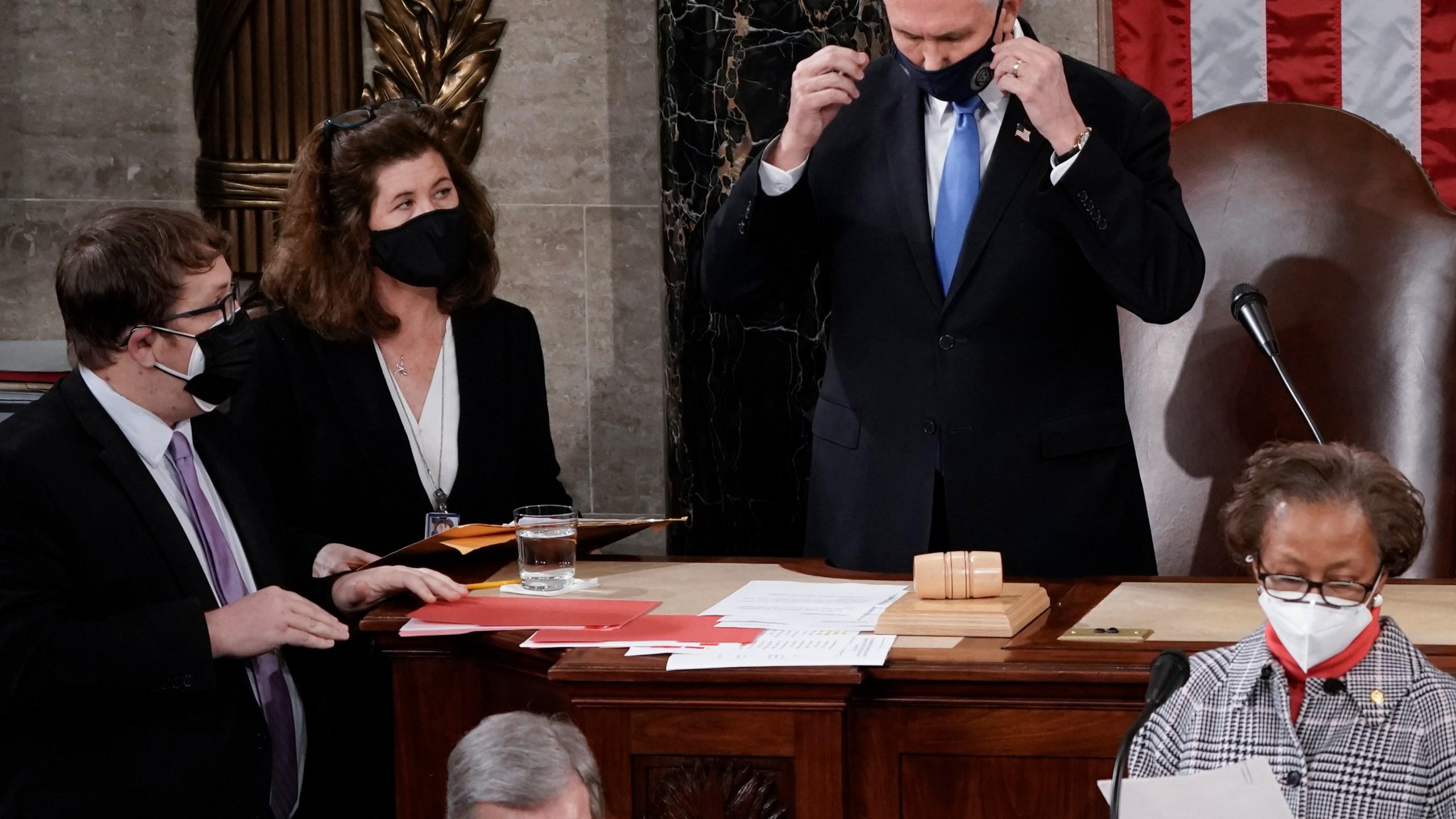 Mike Pence, Elizabeth MacDonough