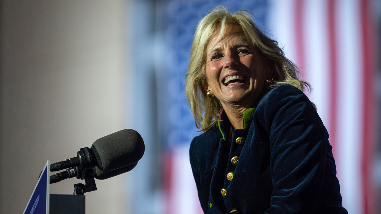 Jill Biden's 'United' Message To U.S. Olympians: We Are More Than Our Political Parties