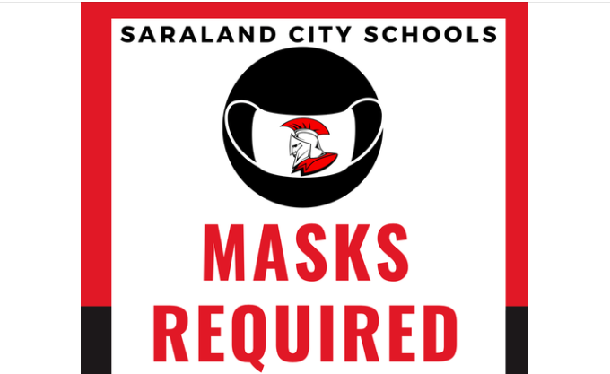 Masks required at Saraland City Schools through Sept. 6