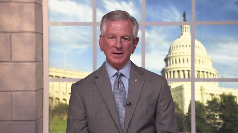 Sen. Tommy Tuberville again pushes for Alabamians to get educated about COVID-19 vaccines